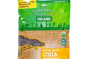 Organic Whole Chia Seeds