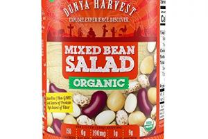 Organic Mixed Bean Salad