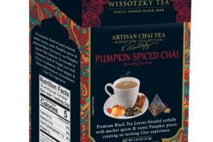 Artisan Chai Tea, Pumpkin Spiced Chai