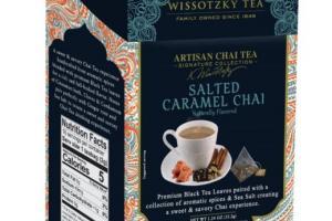 Artisan Chai Tea, Salted Caramel Chai,