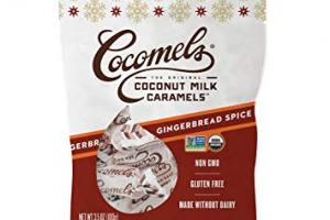 Coconut Milk Caramels - Gingerbread Spice