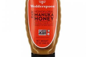 Raw Monofloral Manuka Honey KFactor 16