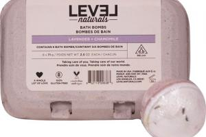 Bath Bombs, Lavender + Chamomile