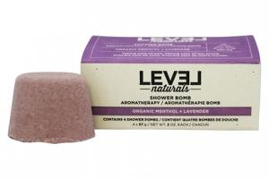 Level Naturals Shower Bombs