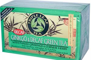 Ginkgo & Decaf Green Tea