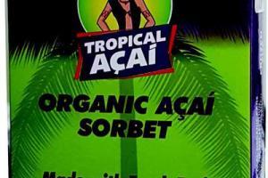Organic Acai Sorbet