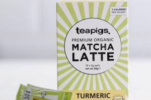 matcha turmeric latte