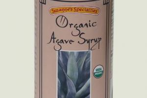 Organic Agave Syrup Jar