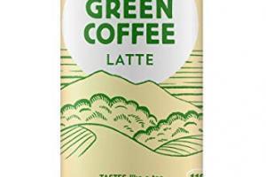 Pure Green Coffee Latte Cane Sugar