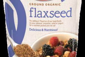Ground Organic Flaxseed