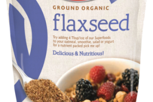 Ground Organic Flaxseed
