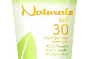 SPF30 Broad Spectrum 100% Natural Sunscreen