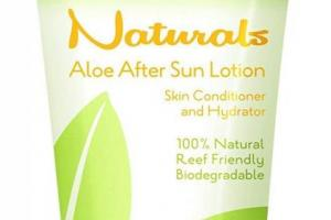 Naturals Aloe After Sun Lotion