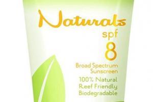 SPF8 Broad Spectrum 100% Natural Sunscreen