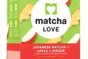 Japanese Matcha + Apple + Ginger