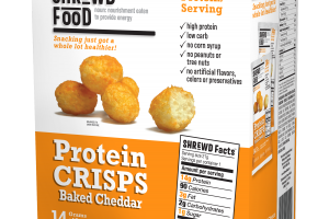 Protein Crisps Baked Cheddar