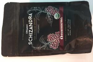 Organic Schizandra Herbal Supplement