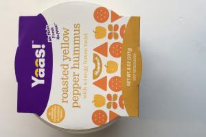 Roasted Yellow Pepper Hummus