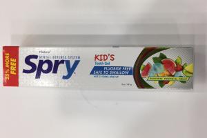 Natural Kid's Tooth Gel, Natural Tropical Fruit