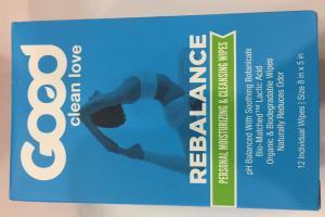 Rebalance Personal Moisturizing & Cleansing Wipes