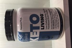 Low-carbohydrate, High-fat Nutritional Shake Powder