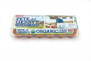 Large Organic Fresh Grade A Eggs