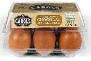 Large Heirloom Chocolat Marans Eggs