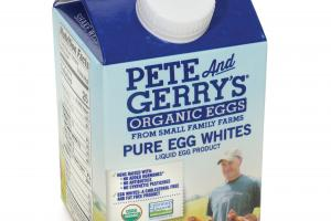 Organic Eggs, Pure Egg Whites