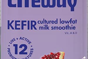 Pomegranate Kefir Cultured Lowfat Milk Smoothie