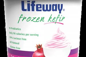 Frozen Kefir Tart And Tangy