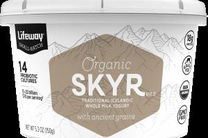 Skyr Traditional Icelandic Whole Milk Yogurt With Ancient Grains