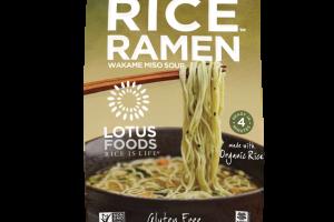 Ramen Wakame Miso Soup