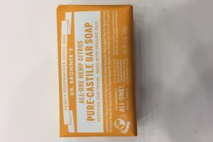 All-one Hemp Citrus Pure-castile Bar Soap