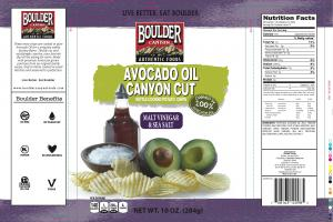 Avocado Oil Canyon Cut Kettle Cooked Potato Chips