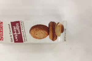 Oats & Coconut Sandwich Cookies