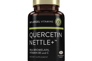 Quercetin Nettle+ With Bromelain, Vitamin B5 And C Dietary Supplement
