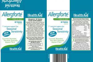 Allergforte Immune Support For Seasonal Sensitivity