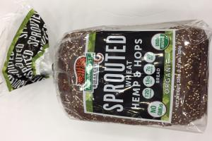 Organic Sprouted Wheat Hemp & Hops Bread