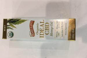 Organic Ideal Cbd Hemp Oil Dietary Supplement