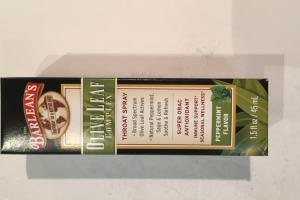 Olive Leaf  Complex Throat Spray Dietary Supplement