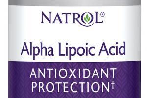 Alpha Lipoic Acid Antioxidant Protection+ Dietary Supplement