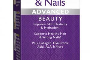 Skin, Hair & Nails Advanced Beauty Dietary Supplement