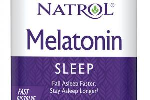 Melatonin Sleep Dietary Supplement