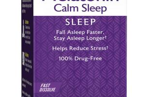 Melatonin Calm Sleep Dietary Supplement