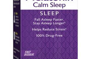 Melatonin Calm Sleep Dietary Supplement