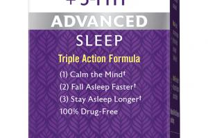 Advanced Sleep Melatonin + 5-htp Dietary Supplement
