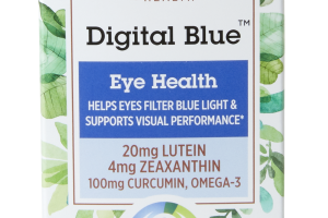 Digital Blue Eye Health Dietary Supplement