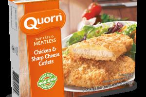 Chicken & Sharp Cheese Cutlets