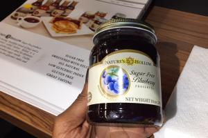 Sugar Free Blueberry Preserves