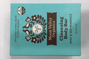 Mint & Sea Minerals Cleansing Body Bar